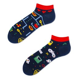 Many Mornings Socks - Game Over Low - Socken