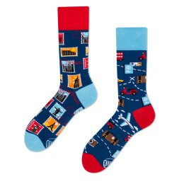 Many Mornings Socks - The Traveler - Socken