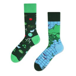 Many Mornings Socks - Save The Planet - Socken