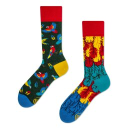 Many Mornings Socks - Paradise Parrot - Socken