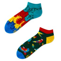 Many Mornings Socks - Paradise Parrot - Low - Socken