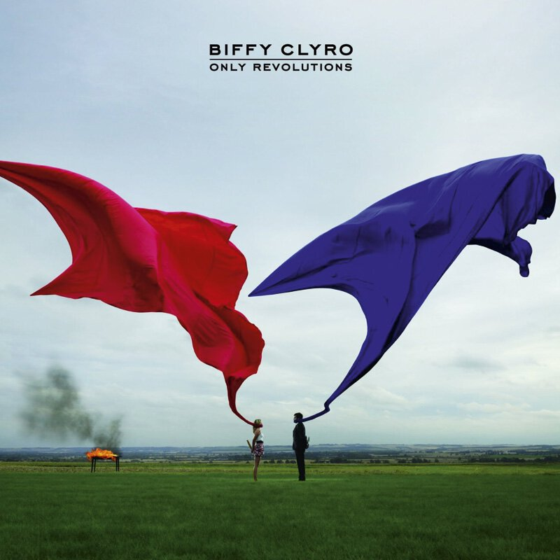 Biffy Clyro - Only Revolutions - LP