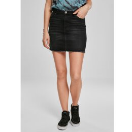 Urban Classics - TB3447 - Ladies Denim Skirt - real black...