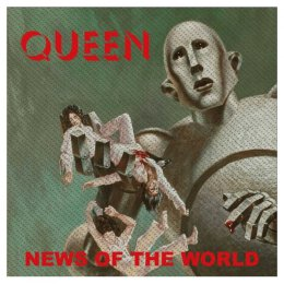 Queen - News of the world - Patch