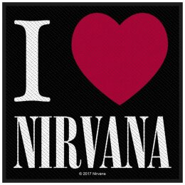 Nirvana - I Love Nirvana - Patch
