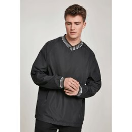 Urban Classics - TB2730 - Warm Up Pull Over - black/grey