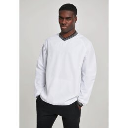Urban Classics - TB2730 - Warm Up Pull Over - white/grey