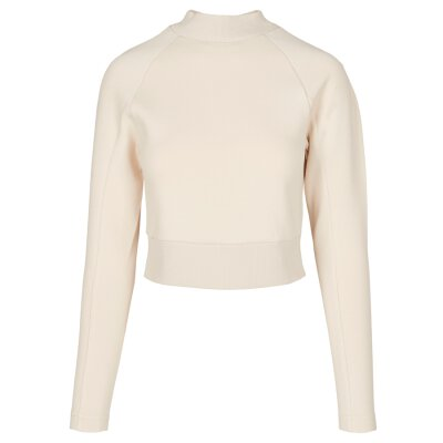 Urban Classics - TB3782 - Ladies Interlock Short Turtleneck Crew - sand