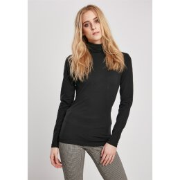 Urban Classics - TB3757 - Ladies Basic Turtleneck LS - black
