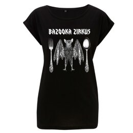 Bazooka Zirkus - Fledermaus - Girl Shirt - black