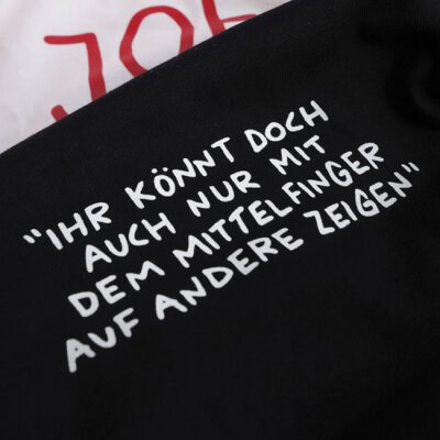 Akne Kid Joe - Mittelfinger - Girl Shirt (EP16) - black