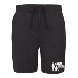 Kidnap Music - Stay Home - Kurze Hose / Sweat Shorts -...