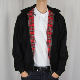 Harrington Style - Winterjacke - black