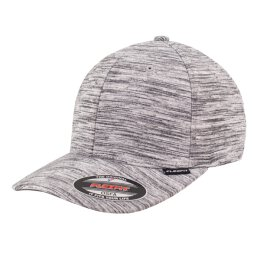 Flexfit - Stripes Melange - Baseball Cap - black/heather...