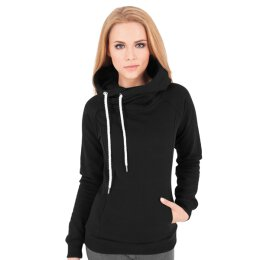 Urban Classics - TB1076 Ladies Raglan High Neck Hoody -...