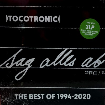 Tocotronic - Sag Alles Ab - The Best Of 1994 - 2020 - LP Box