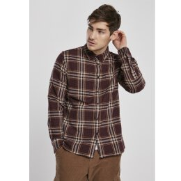 Urban Classics - TB3807 - Checked Campus Shirt -...