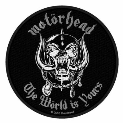 Motörhead - The Wörld Is Yours - Patch (rund)