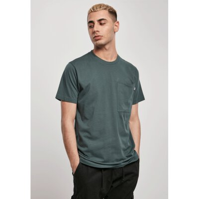 Urban Classics - TB3499 Basic Pocket Tee - bottlegreen