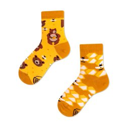 Many Mornings Socks - Honey Bear - Kids Socken