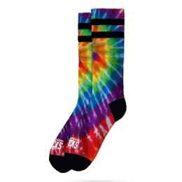American Socks - Tie Dye Flower Power - Socken - Mid High