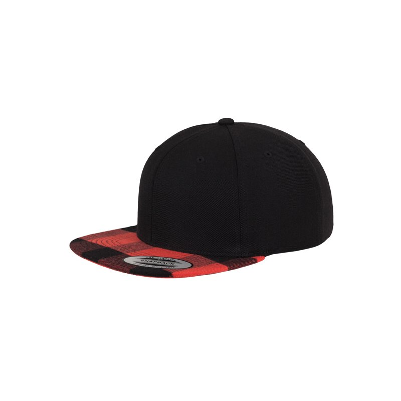 Flexfit/Yupoong - Checked Flanell Peak - Snapback -...