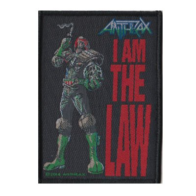 Anthrax - I Am The Law - Patch