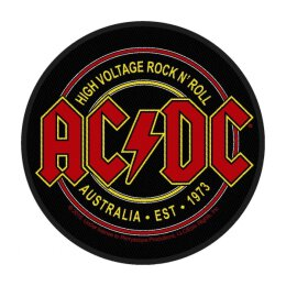 AC/DC - High Voltage RocknRoll - Patch (rund)
