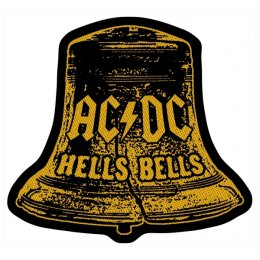 AC/DC - Hells Bells Cut Out - Patch