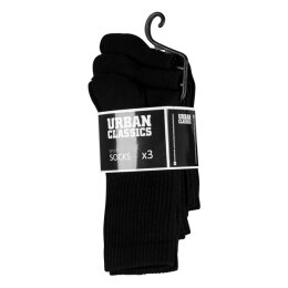Urban Classics - TB1471 - Sport Socks 3-Pack - black