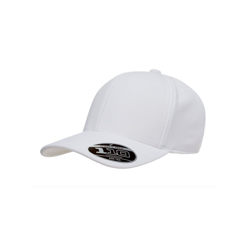 Flexfit - 110 Cool & Dry Mini Pique - white