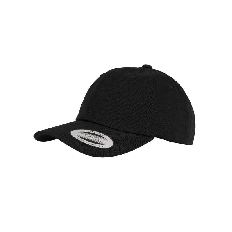 Flexfit/Yupong - Low Profile Cotton Twill Cap - black