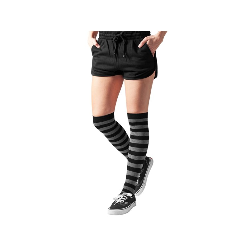 Urban Classics - TB1167 Ladies Striped Overknee Socks -...