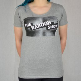 Baboon Show, The - Censored - Girl Shirt - grey