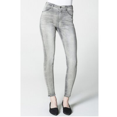 Cheap Monday - High Spray On Jeggins - High Waist Skinny - mad grey