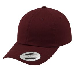 Flexfit/Yupong - Low Profile Cotton Twill Cap - maroon