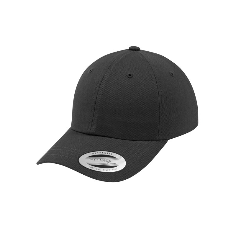 Flexfit/Yupong - Low Profile Cotton Twill Cap - dark grey