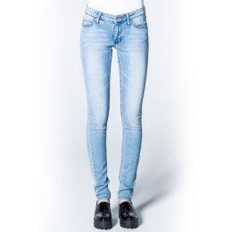 Cheap Monday - Slim - Skinny Fit Jeans - Stonewash Blue