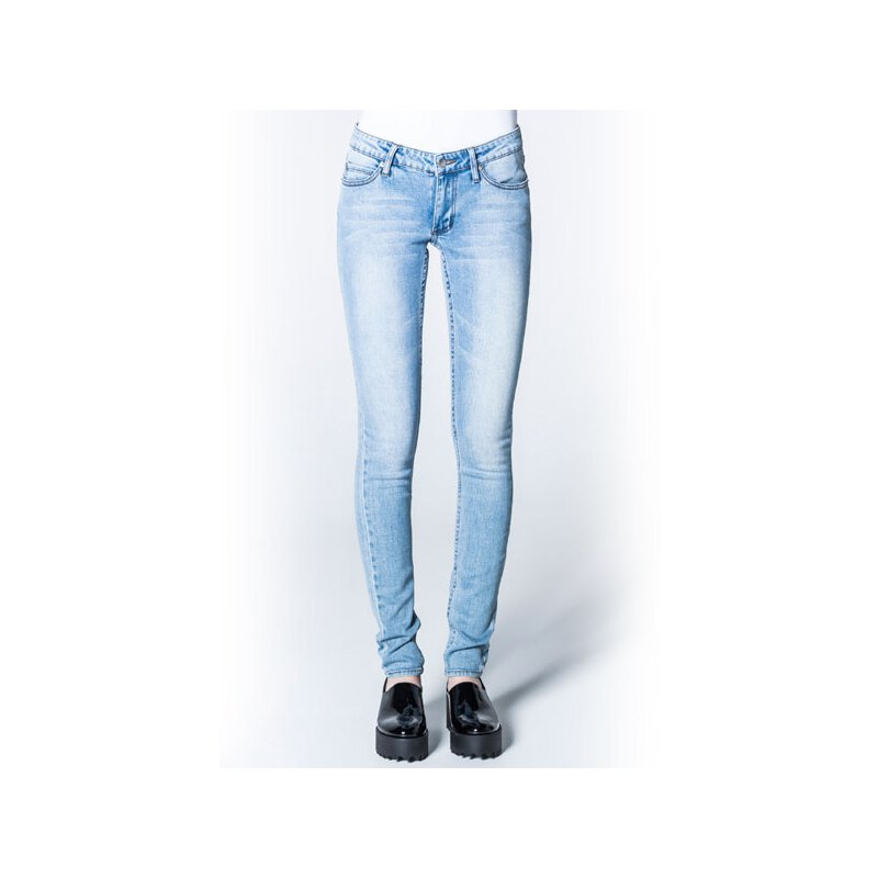 Cheap Monday - Slim - Skinny Fit Jeans - Stonewash Blue...