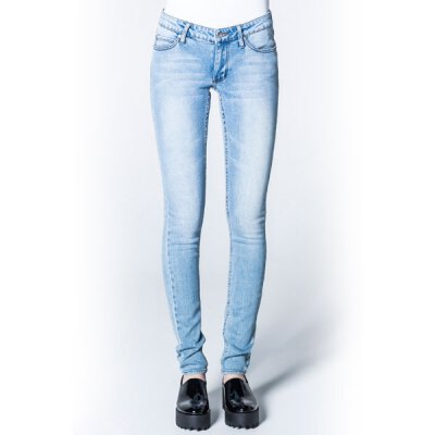 Cheap Monday - Slim - Skinny Fit Jeans - Stonewash Blue 27/32