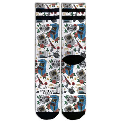 American Socks - Game Over - Socken - Signature - Mid High S-M / 37-41