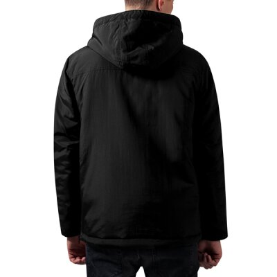 Urban Classics - TB1443 Padded Pull Over Jacket - black
