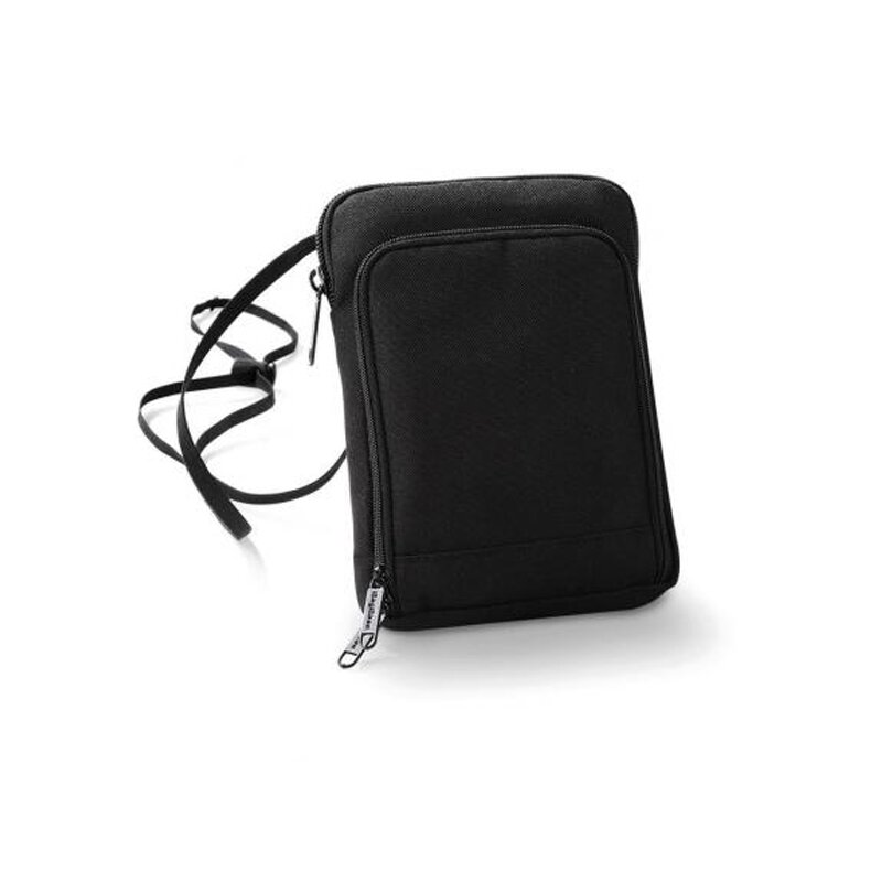 BagBase - BG47 Travel Wallet (Tickertasche) - black