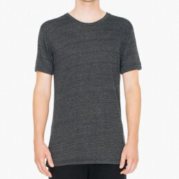 American Apparel - TR401 - Tri Blend Shirt - Tri black