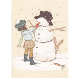 Postkarte - Belle & Boo - The Snowman