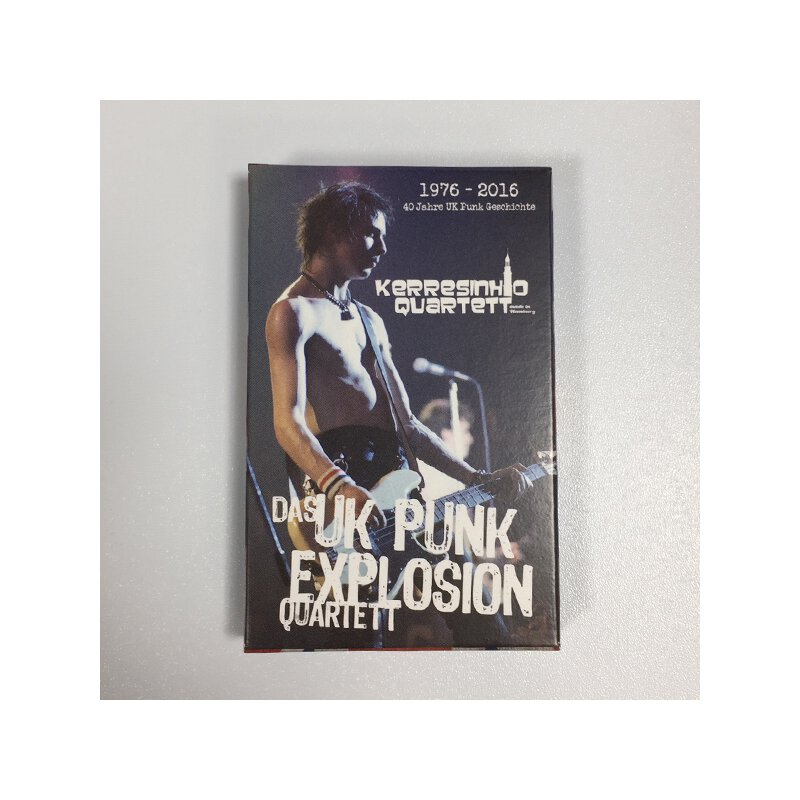 Das UK - Punk Explosion Quartett - 1976-2016