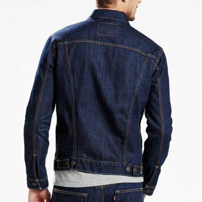 premium selection 6b58b 372c2 Levi's - Standard Fit Trucker - Jeans Jacke - Onewash -72334-0032