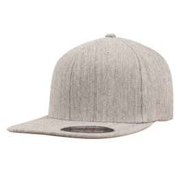 Flexfit - Flat Visor Cap - heather
