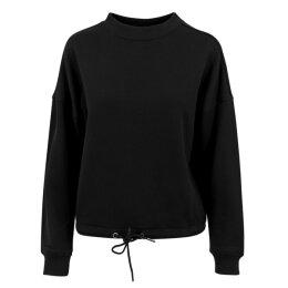 Urban Classics - TB1523 - Ladies Oversized Crew - black