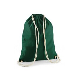 Gym Bag Basic ( Westford Mill W110) -  Baumwolle - bottle...